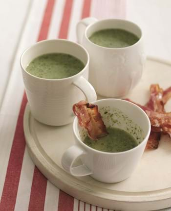 Smokey Bacon And Watercress Soup
