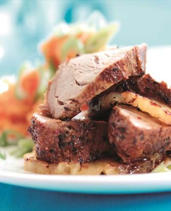 Cajun Pork Fillet With Sweet Potatoes