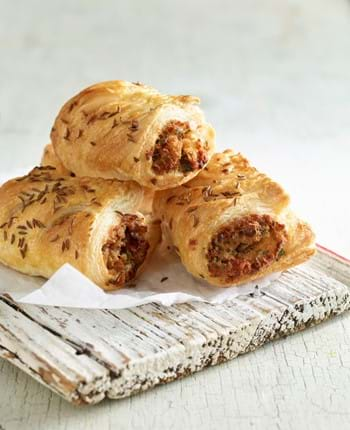Leftover Pulled Pork Sausage Rolls
