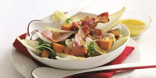 Maple And Chicory Bacon Salad
