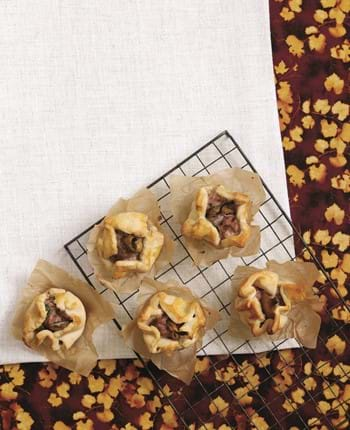 Mini Pork And Pear Pies With Parsley