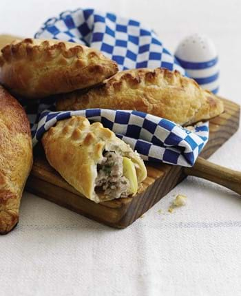 Pork Sausage Pasties With Apple And Cider