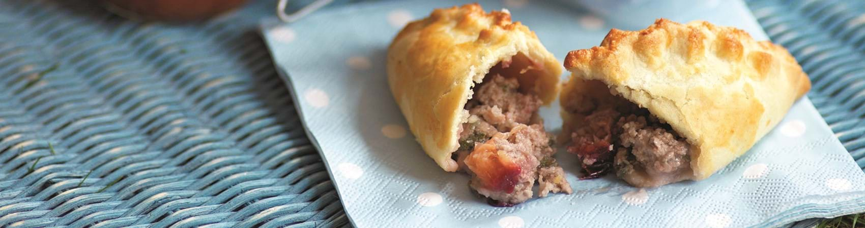 Pork Pasties With Sage And Plum