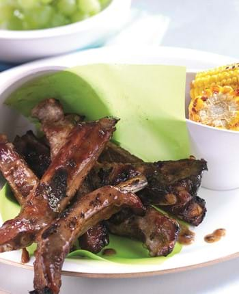 Sticky Chinese Ribs With Hoisin Sauce