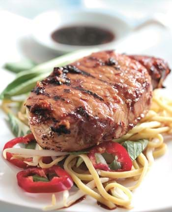Teriyaki Pork Steaks With Soy Sauce