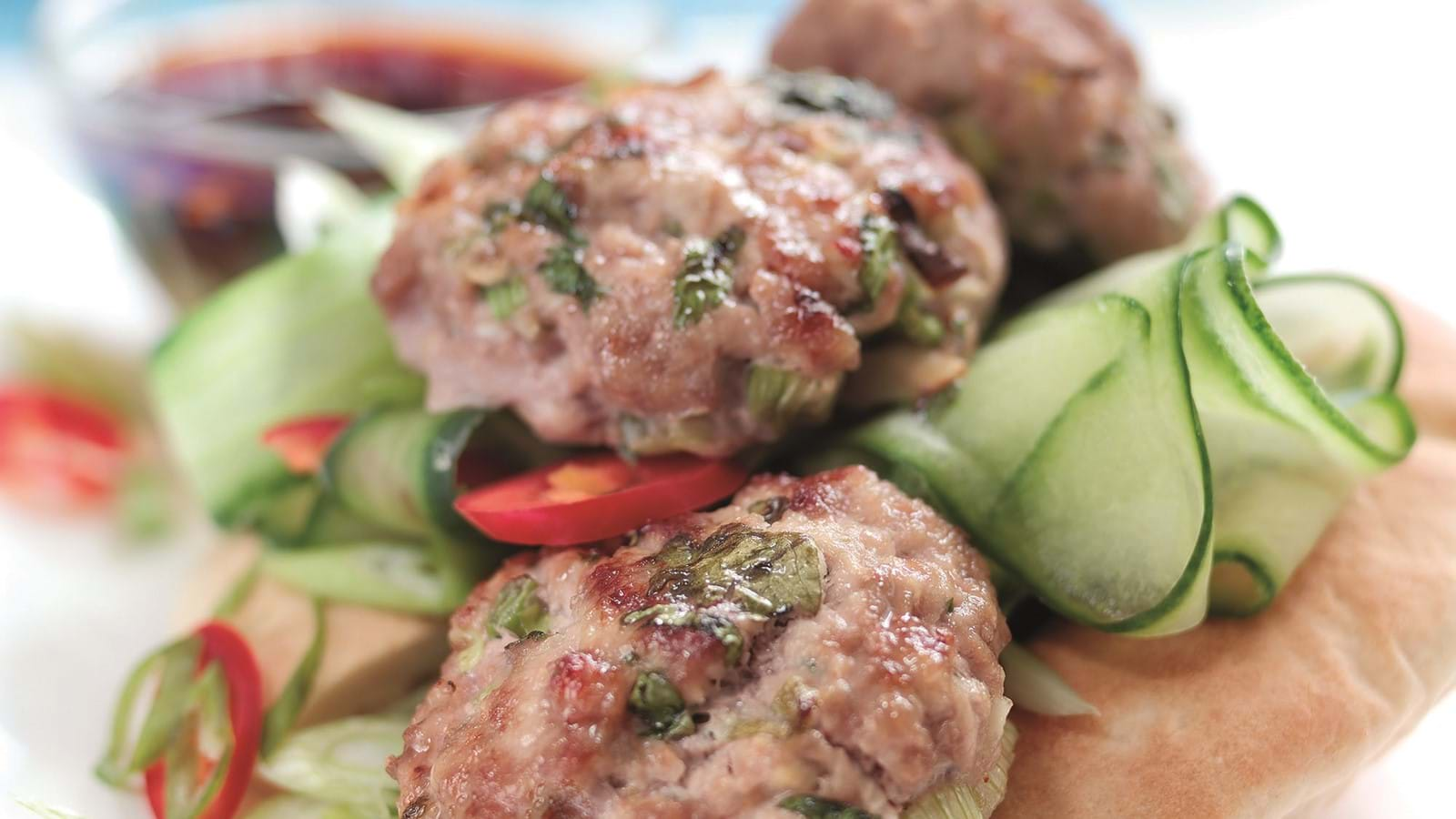 Thai Pork Bites With Dipping Sauce Recipe Love