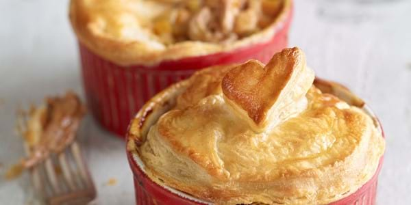 Valentine's Day Pulled Pork Pies