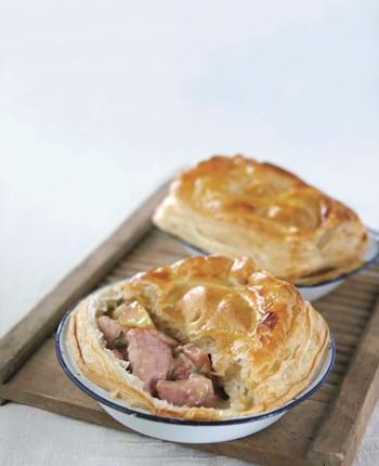 Gammon Pie With Cider, Apple And Sage