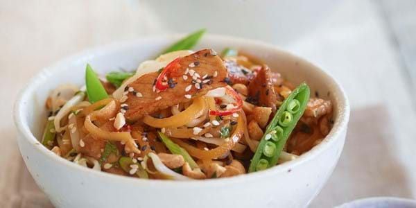 Zesty Stir-fry Pork
