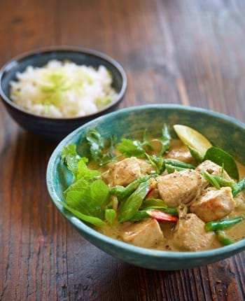 Thai Green Pork Medallion Curry