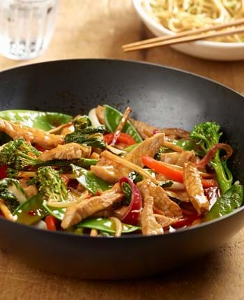 Pork and Ginger Stir Fry