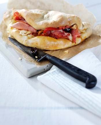 Bacon Calzone