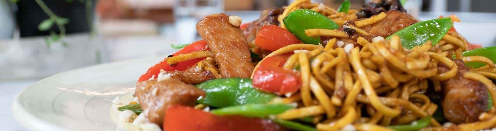 Speedy Stir-Fry Pork Noodles