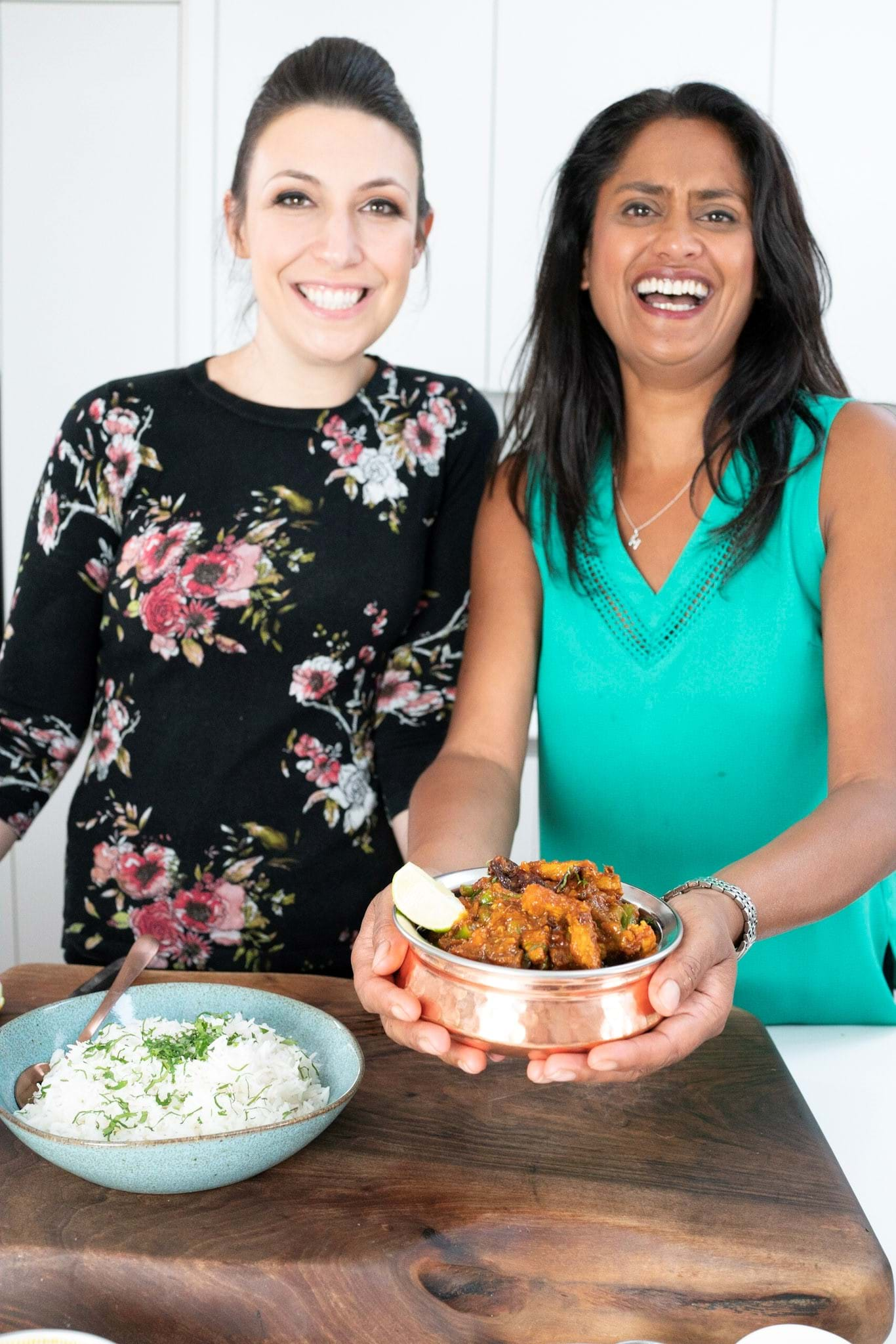 Hari and Emily create a delicious pork steak curry
