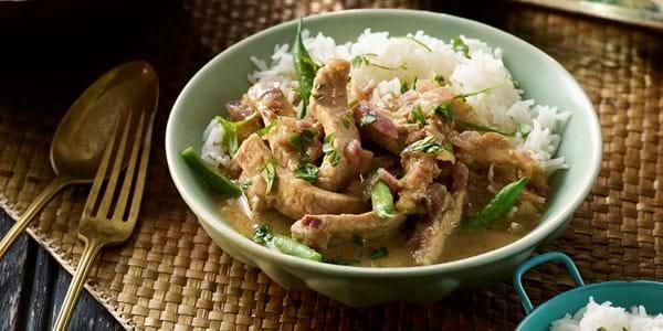 Thai Green Pork Medallion Curry
