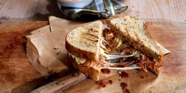 Pulled Pork Cheese Toasties
